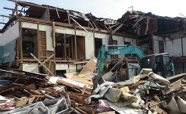 住宅リフォームに伴う家屋の部分解体
