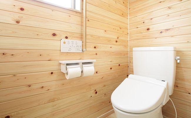 トイレの内装(床材/壁材)張替えリフォーム