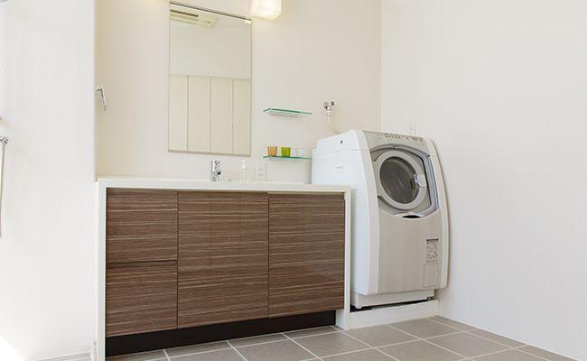 洗面室の断熱リフォーム