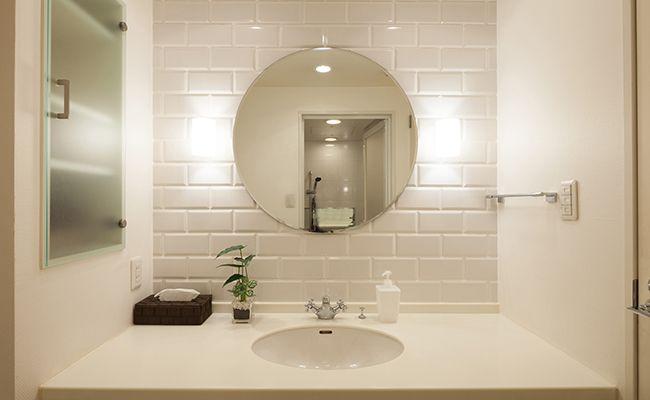 脱衣所の床材・壁材リフォーム(湿気/カビによる劣化箇所の修繕・張替え)
