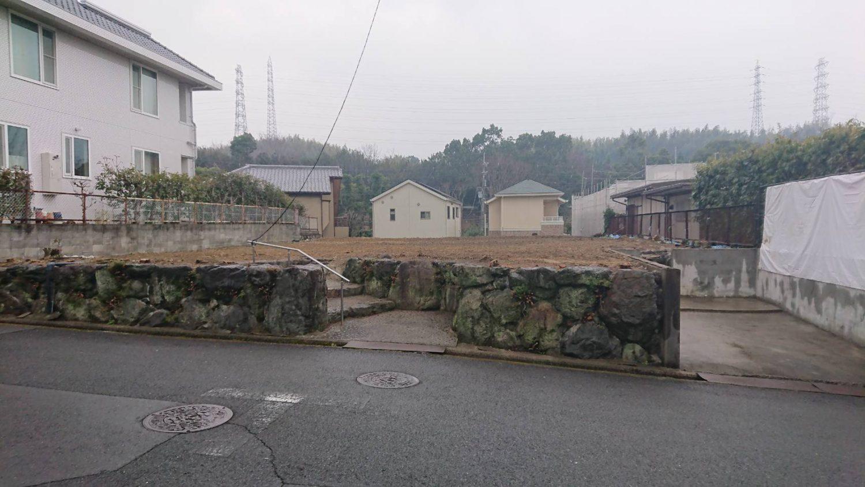 石垣を残して建物を解体