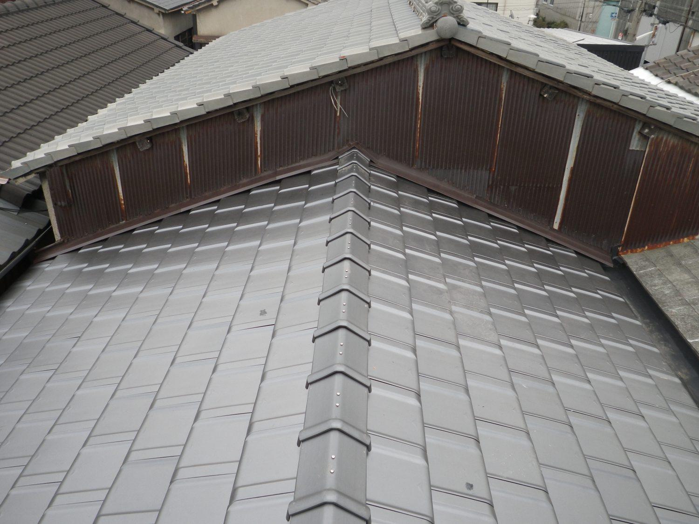 建物を守る、瓦屋根のリフォーム