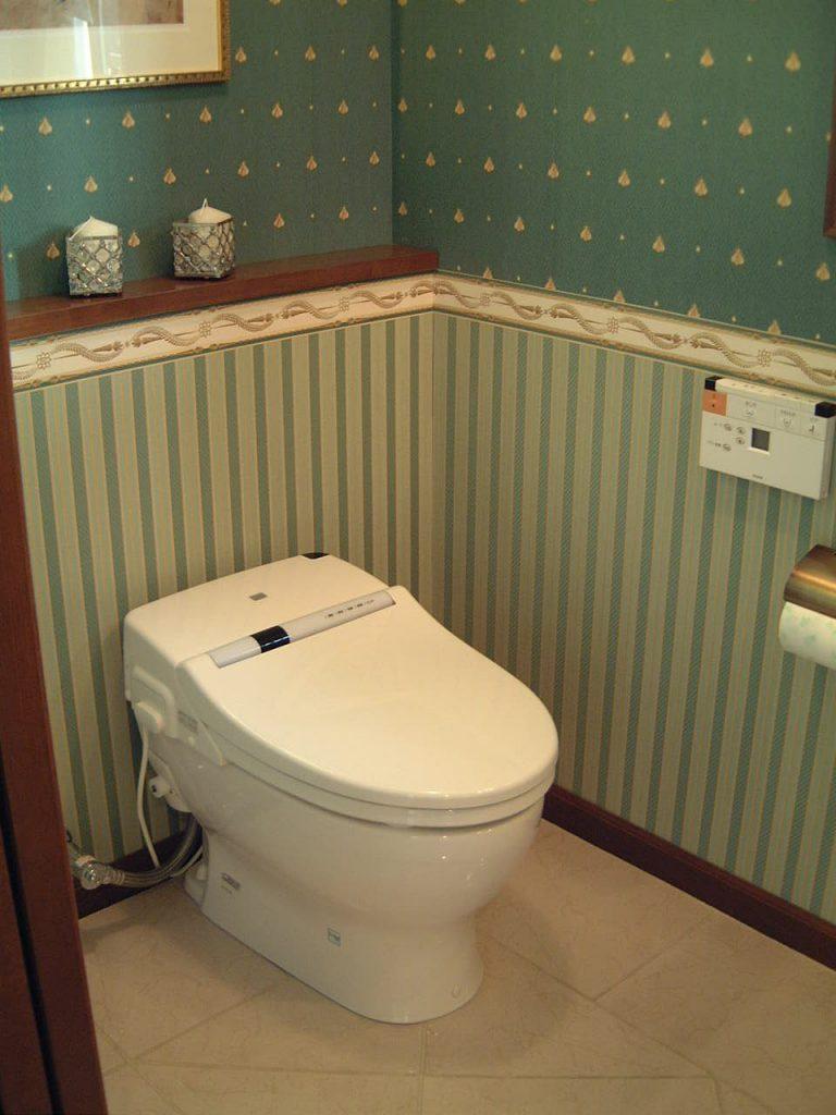 トイレ壁紙の選び方決定版 高デザイン 高機能でオシャレで掃除を楽に 大阪 京都 奈良 近畿エリアのリフォームならエーライフリノベーションラボ